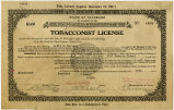 State of Colorado, Tobacconist License.