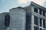 Longmont Farmer's Mill/Pride of the Rockies Flour Mill, close up of silos