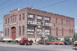 Pacific Express Stable/Francis J. Fisher Building, view front and side