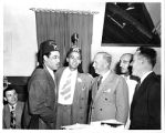 Grand Lodge Photo with Various Members and Duke Ellington