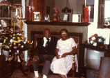 Dr. Clarence Holmes and Fairfax Holmes at Home