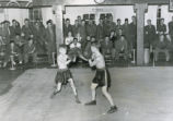 Exhibition boxing match