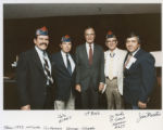 Vice-President George H. Bush and members of American G.I. Forum