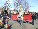 Sofia Garcia, Cesar Chavez Peace March, Denver