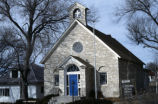 Elbert County Public Library housed in former St. Ann Catholic Church