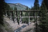 Trout Lake Trestle, San Miguel County, Colo.