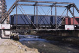 Railroad bridge near Delgany Street Denver