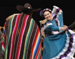 Cinco de Mayo Mexican folk dancers