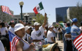 Immigration rights reform rally