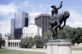 Broncho Buster statue, Civic Center, Denver