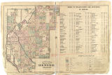 Robinson Atlas of the City of Denver (Index)