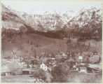 Ouray looking East on D.& R.G. Ry.