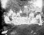 Recreation - picnic - group at City Park