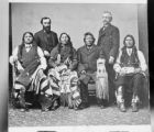 Ute Indians, group portrait