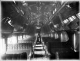 Interior of Pullman car