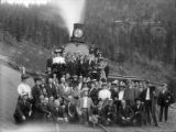 Colo. Spgs. & Cripple Creek Dist. RR excursion