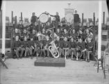 Military Kansas Nat'l Guard 2nd Regiment band from Emporia, Kansas