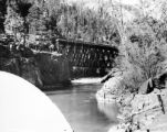 Bridge across the Rio Las Animas