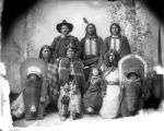 Ute Indians, Chief Severo & family