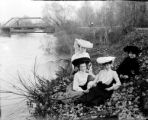 Four women by the South Platte