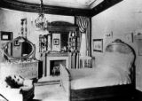 Interior of a bedroom in a residence in Leadville