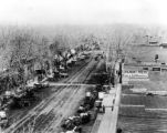 Longmont's Main St. in horse and buggy days