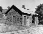 Lyons depot prior to restoration