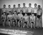 Colorado A. M. Swimming Team Rocky Mountain Champions of 1951