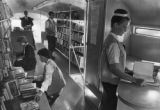 Working in the bookmobile