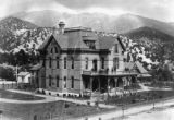 Denver and Rio Grande Hospital built in 1880's destroyed by fire about 1903