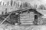 The first house in Cripple Creek - December, 1891