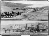 Mine disaster funeral procession