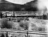 Railyard tye (sic.) at Wood Sawmill - west side Berthoud pass