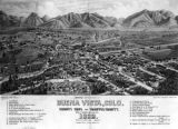 Bird's eye view of Buena Vista, Colo.