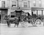 Horse drawn fire wagon from Denver Fire Dept.