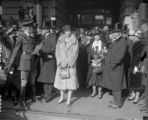 Queen Marie's arrival to Denver