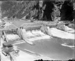 Shoshone Dam in Glenwood Canyon over the Colorado River