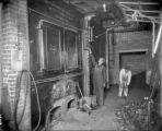 Boiler room, possibly at Gates