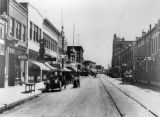 West Main Street, looking north, Trinidad, Colorado