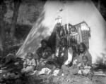 Chipeta, Buckskin Charlie and wife