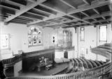 [Unity Church interior with balcony]