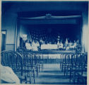 Montclair School, interior (school play)