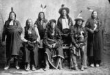 Seven Sioux warriors