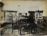 Dining room in O. P. Grove's residence