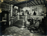 Hall in Dr. C. N. Hart's residence