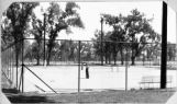 Tennis courts at City Park