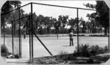 Tennis courts in City Park