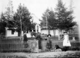 C.A. Finding residence, Breckenridge 1890