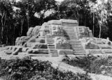 Ground view, Maya pyramid (2000 yrs old)