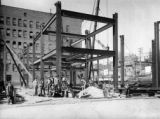 Construction of Gas & Electric Bldg. Denver